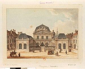 University of Perpignan - The University of Perpignan in 1780