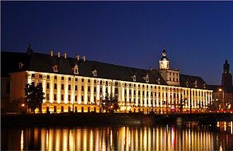 University of Wrocław - Image: Uniwersytet Wrocławski