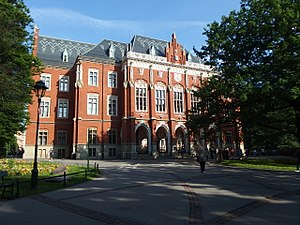 Education in Poland - Image: Uniwersytet Jagielloński, Collegium Novum