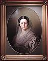Unknown woman in white dress by I.Makarov (1860s, GIM) FRAME.jpg