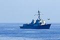 Unmanned aerial system (UAS) flies near the USS Jason Dunham.jpg