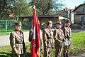 Unveiling of memorial plaque to NSZ soldiers in Zagórz (26.10.2014) 9 TG Sokół members.jpg