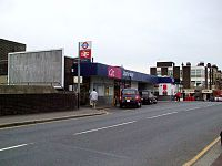 Upminster station main entrance.JPG