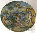 Urbino, bottega dei fontana, alfeo e aretusa, 1580 ca..JPG