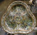 Urbino, piatto trilobato con storie di giuseppe tra grottesche, 1570-80.JPG
