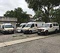Véhicules Croix-Rouge à Mermoz (Lyon) en juillet 2017.jpg