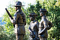 VC Memorial Park Euroa - Statues - Anzac Memorial (Maygar, Tubb, Burton).jpg