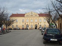 vác vasútállomás térkép Vác vasútállomás – Wikipédia vác vasútállomás térkép