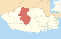 Vale of Glamorgan UK ward location - Cowbridge.png