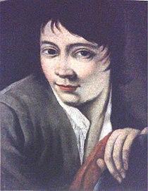 Valentino Rovisi, Autoportret młodzieńca, 1730, ol. na pł., 32 x 24,5 cm, kolekcja prywatna.jpg