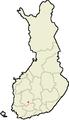 Valkeakoski Suomen maakuntakartalla.png