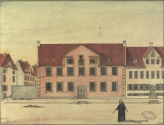 Valkendorfs Kollegium - Valkendorfs Kollegium in 1749