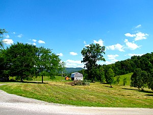 Van Buren County, Tennessee - Hills near Spencer
