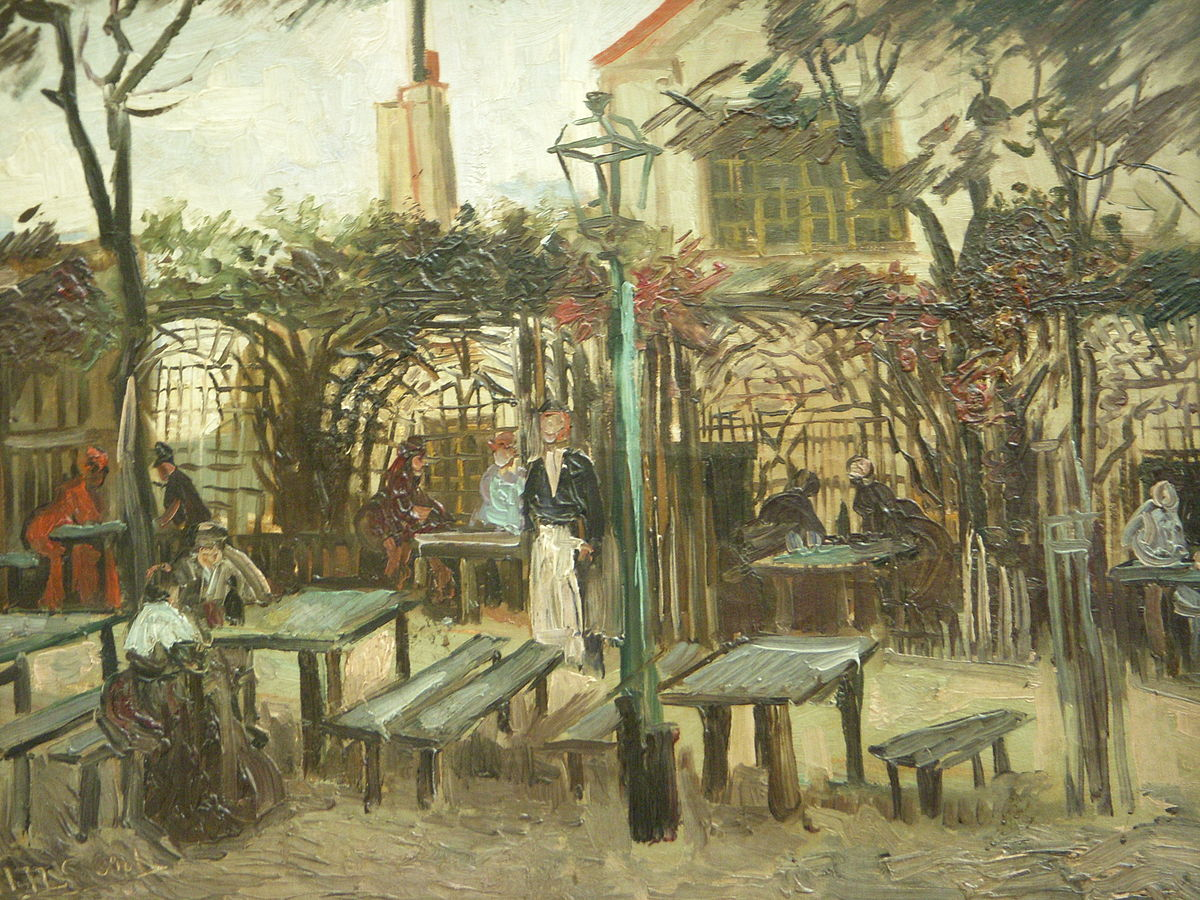 "Van Gogh -  ""La Guinguette"""