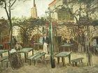 140px Van Gogh   Gartenlokal %22La Guinguette%22 auf dem Montmartre Vincent van Gogh in Paris: Montmartre