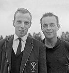 Van der To and Max Alwin 1963.jpg