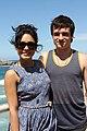 Vanessa Hudgens and Josh Hutcherson (6718748475).jpg