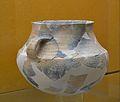 Vas carenat amb decoració impresa, Muntanyeta de Cabrera (Torrent), museu de Prehistòria, València.JPG