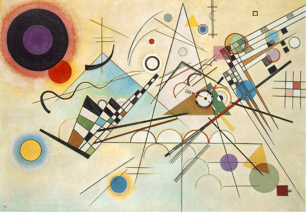 """Composition 8"" by Kandinsky"