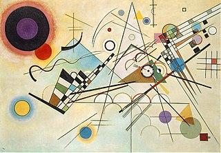 Vassily Kandinsky, 1923 - Composition 8, huile sur toile, 140 cm x 201 cm, Musée Guggenheim, New York.jpg