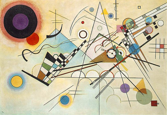 'Composition VIII', Wassily Kandinsky, 1923