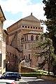Veduta della cappella sistina dai giardini vaticani, 01.jpg