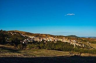 Castelbottaccio - Image: Veduta di Castelbottaccio