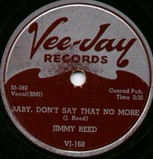 Vee-Jay Records - Image: Vee Jay Record