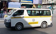 Vehicle of the Jordanian Traffic Department.JPG