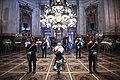 Velorio del expresidente de la República Argentina, Carlos Saul Menem, en el Salón Azul del Congreso de la Nación, en Buenos Aires, Argentina.jpg