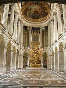 Cappella Palatina Reggia Di Caserta Interni.Cappella Di Versailles Wikipedia