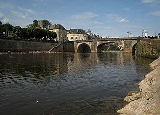 Brücke über die Vézère in Montignac