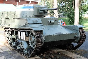 Parola Tank Museum - Image: Vickers parola 1