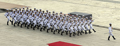 VPN's honor guard at ASEAN defense ministers meeting, 2010 - Vietnam People's Navy