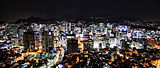 View from N Seoul Tower at night.jpg