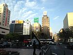 View in front of Chikushi Entrance of Hakata Station (JR) 2.JPG