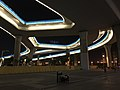 View in front of Nanjing South Station at night.jpg
