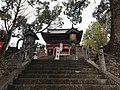 View of Romon gate of Kitaoka Shrine.jpg
