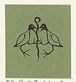 Vignet met twee vogels, RP-P-OB-16.630.jpg