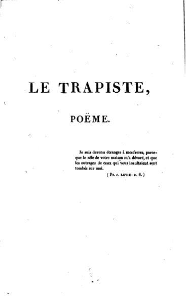 File:Vigny - Le Trappiste, 1823.djvu