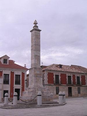 Villalar de los Comuneros - Image: Villalar de los Comuneros Monumento a los comuneros