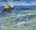 Vincent Van Gogh, La mer aux Saintes-Maries, Saintes-Maries-de-la-Mer, 1888.jpg