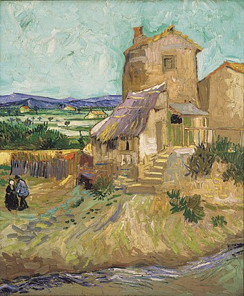 Vincent van Gogh %281853-1890%29 - The Old Mill %281888%29