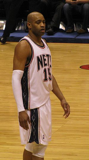 Vince Carter playing with the Orlando Magic
