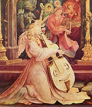 Mathis der Maler (opera) - Image: Viola da Gamba Isenheimer Altar