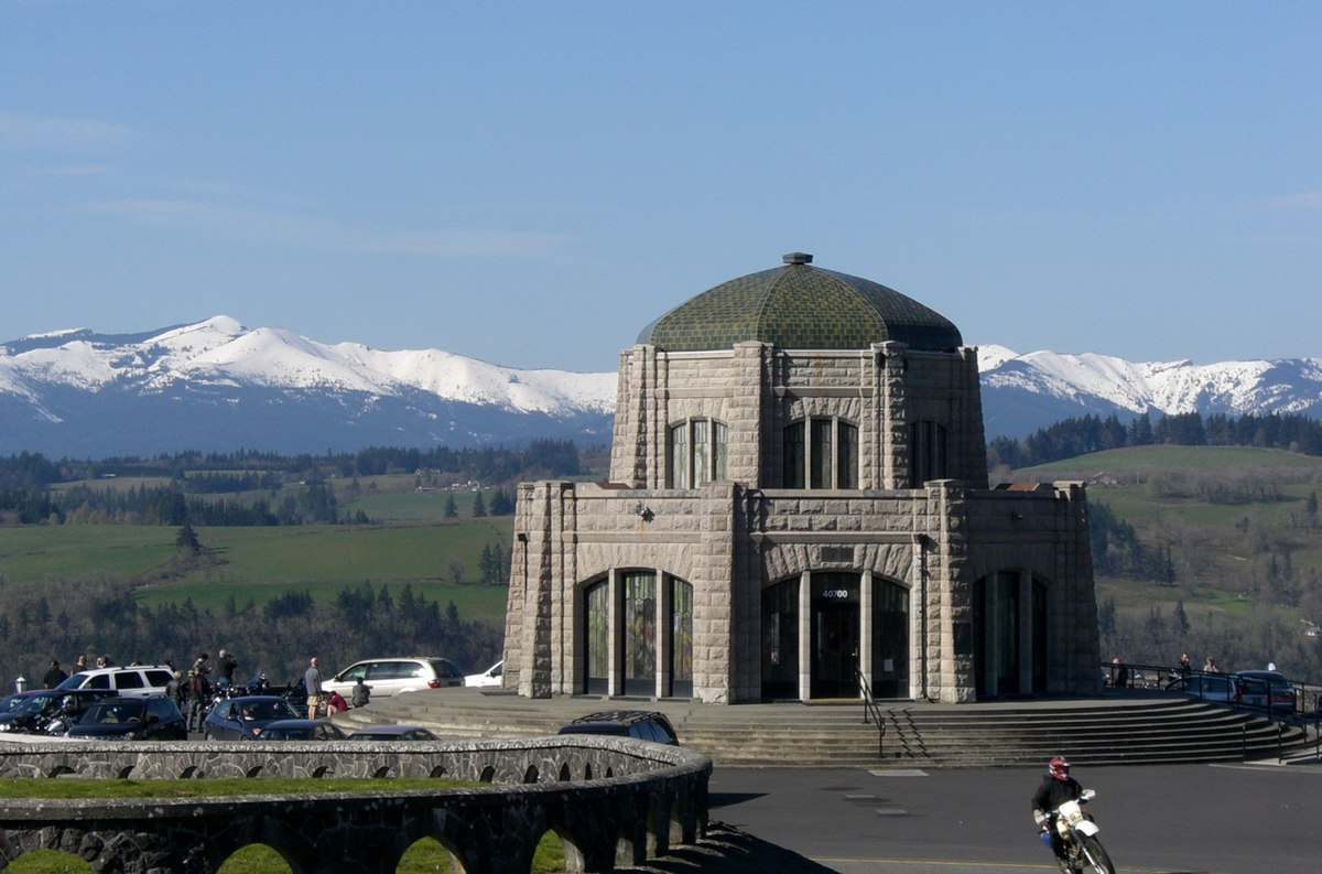 Vista house wikipedia for Building a home in oregon