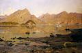 Vista da Lierna su Bellagio, Silvio Poma, 1888, olio su tela, 100,5x176,5, Museo Gallerie d'Italia, Milano, Collezione Fondazione Cariplo.png