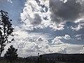 Vista del cielo desde el parque Querétaro 2000, Querétaro, México.jpg