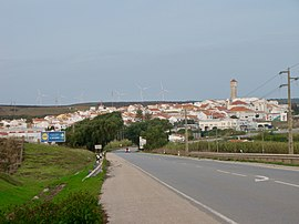 Partial view of Vila do Bispo