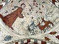 Vittskövle-fresco-Gud skaber dyrene.jpg